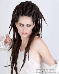 long hair with dreadlocks