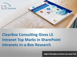 Topmarks Bar Charts Clearbox Consulting Gives Ls Intranet Top Marks In