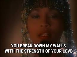 I Have Nothing lyrics Whitney Houston song in images