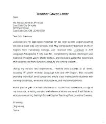 Cover Letter High School Students High School Cover Letter Cover