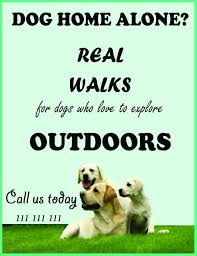 dog walking advertising 25 dog walking flyers for small dog sitting businesses attractive