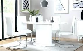 white high gloss dining table oval modern dining table oval white high gloss dining table with