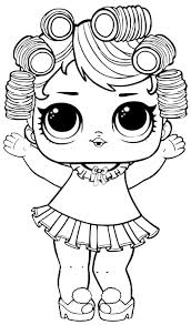 40 Free Printable Lol Surprise Dolls Coloring Pages Throughout Lol