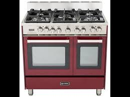 36 gas range double oven. Perfect Gas Verona VEFSGE365NDBU 36inch Double Oven Dual Fuel Range With 5 Sealed Gas  Burners Inside 36