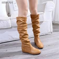 <b>ARSMUNDI</b> Plus Size 35-43 Thigh High Boots Female Winter Boots ...