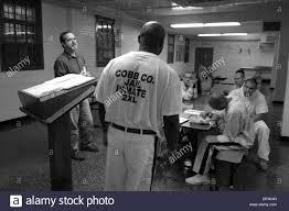 Prison Chaplain Job Aug 16 2006 Marietta Ga Usa Chaplain Ray Morris Talks To Stock
