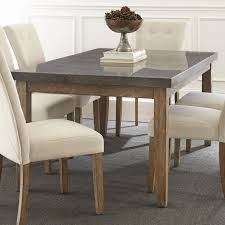 Steve Silver Debby Rectangular Dining Table   Item Number: DB500MT+TL