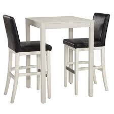 Bar Table And Chairs Set Bar Table Sets Amerihome 3 Piece Adjustable Height Pub Table Set