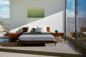 Platform Bedroom Furniture Glencoe Platform Bed Mid Century Modern Beds Dering Hall