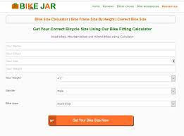 Bike Size Calculator Absolute Bike Frame Size By Height