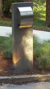 Good Looking residential mailboxes in Spaces Modern with Letterbox