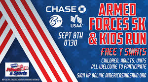 armed forces 5k kids run 452d force support squadron at march