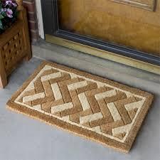 large front door matsDecorating Cozy Kahrs Flooring With Beige Coir Doormat With