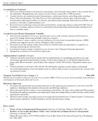 Sample Resume For A Midlevel Engineering Project Manager Monster ...