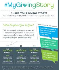 two opportunities for nonprofits to power their givingtuesday  mygivingstory