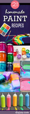 arts and crafts to do at home with toddlers. 21 easy diy paint recipes your kids will go crazy for arts and crafts to do at home with toddlers d
