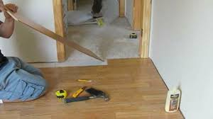 Laminate Bathroom Walls How To Install Laminate Flooring On Uneven Walls All About