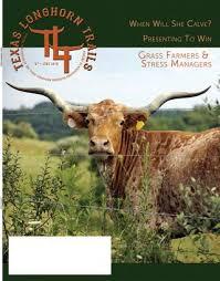 Longhorn Horn Growth Chart June 2018 Texas Longhorn Trails Magazine By Texas Longhorn