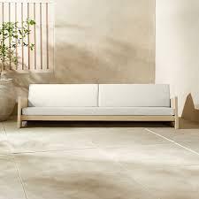 lunes white outdoor sofa