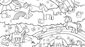 Unicorn Rainbow Coloring Pages Unicorn And Rainbow Coloring Pages Unicorn Rainbow Coloring Pages