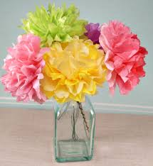 tissue paper flower centerpiece ideas tissue paper centerpieces homework service