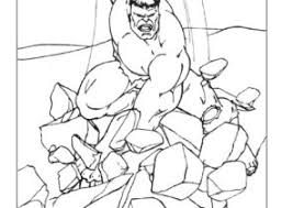 We together coloring hulk fighter in photoshop. Hulk Coloring Pages Coloring4free Com