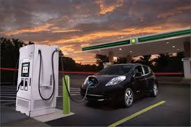 Nissan Partners With Oil Company For Electric Car Fast Charging