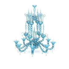 blue crystal chandelier photo sparkling ling lights elegant chandeliers canvas print featuring the photograph romant