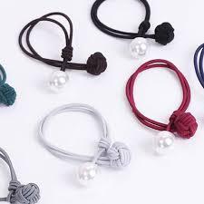 <b>KoreanHair Accessories</b> Ladies Elastic Hair Rubber Bands Luxury ...