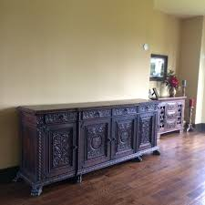 ... Extra Long Sideboard Antique Sideboards And Buffets Letters From  EuroLux Antique Sideboard: astounding ...