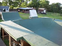 Backyard Ramps  Solution Action Sports  BMX Stunt Show  School How To Build A Skatepark In Your Backyard