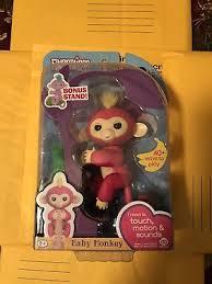 NIB 100% AUTHENTIC WowWee Fingerlings Interactive Baby Monkey ...