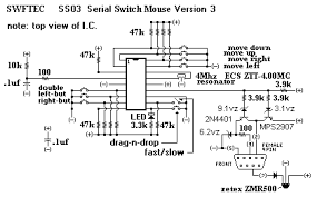 ss03 serial switch input mouse controller