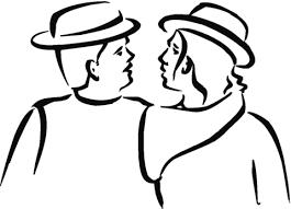 Disegno Di Due Amici Da Colorare Disegni Da Colorare E Stampare Gratis