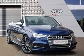 Used Audi A3 S3 Convertible Cars for Sale   Motors.co.uk