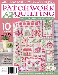 AP&Q 27-11 is on sale now! Janome... - Australian Patchwork ... & Image may contain: text Adamdwight.com