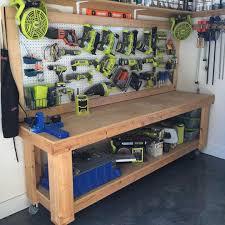 Garage Workbench Design Ideas Garage Workbench Design Ideas Work Benches Diy Workbench