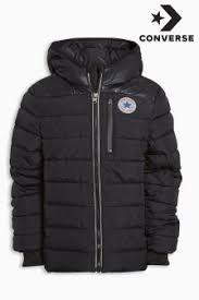 converse jacket mens. converse matte shiney polyfill jacket mens