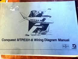 cessna conquest ii tpe331 8 wiring diagram manual