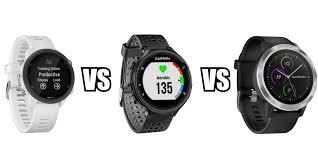 Garmin Watch Comparison Chart 2015 Garmin Forerunner 245 Vs 235 Vs Vivoactive 3 Va3 Currently