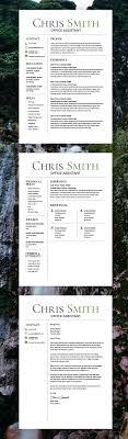 Trending Resume Template Cv Template Free Cover Letter Ms