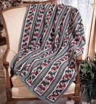 Mile A Minute Crochet Afghan Patterns Custom Leisure Arts 48 Purple Kitty