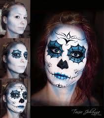 sugar skull makeup tutorial guy google search
