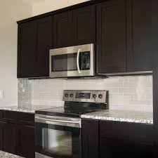 gray backsplash dark cabinets. Joe If We Do Dark Cabinets Think The Gray Engineered Wood Will Look Good Island Kitchen Bundle In Shaker Espresso With Soft Close And Backsplash