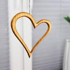 Fensterdeko Herz Aus Holz