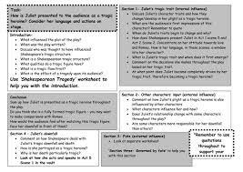 romeo  amp  juliet  printable essay plan worksheet by maz   teaching    romeo  amp  juliet  printable essay plan worksheet by maz   teaching resources   tes