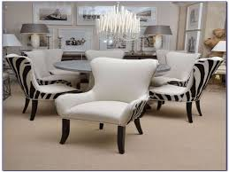 furniture printed dining chairs beautiful zebra print dining room chair covers dining room home