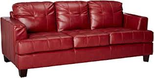 red leather furniture.  Leather Samuel Leather Sofa Red Inside Furniture S