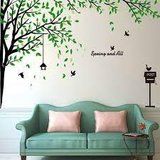 large corner tree wall decals