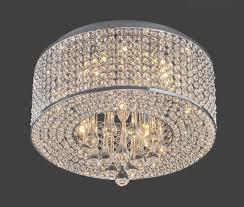 heaven 7 light flush mount chrome crystal chandelier light up my refer to crystal